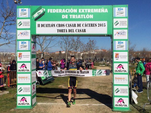 Víctor Sánchez Duatlón Cros Casar de Cáceres 2015