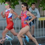 La triatleta pacense disputa las Series Mundiales de Hamburgo como preparación a Río de Janeiro