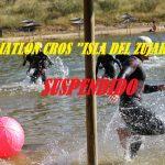 Suspendido el VI Triatlón Cros Isla del Zujar