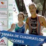 Ana Ruz y Alberto Cebollada se imponen en el Campeonato de España de Cuadriatlón en El Anillo