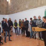 """Miriam Casillas, en el Encuentro de Deportistas: """"Orgullosos de estar aquí y representar a los extremeños"""""""