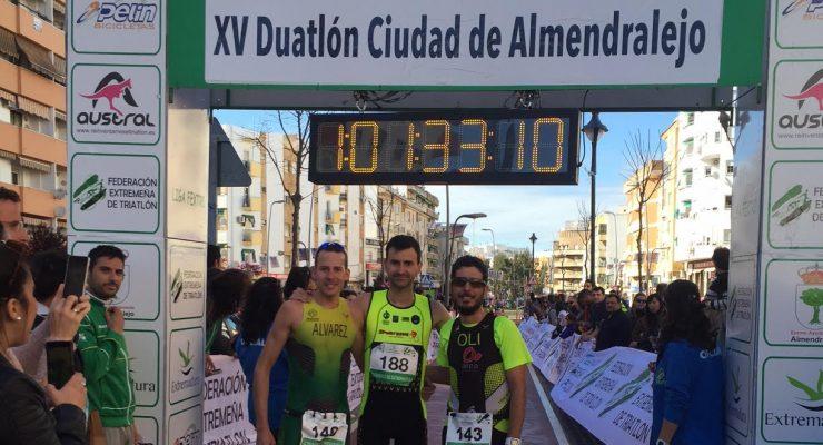 Los mejores Duatletas extremeños se miden en Almendralejo.