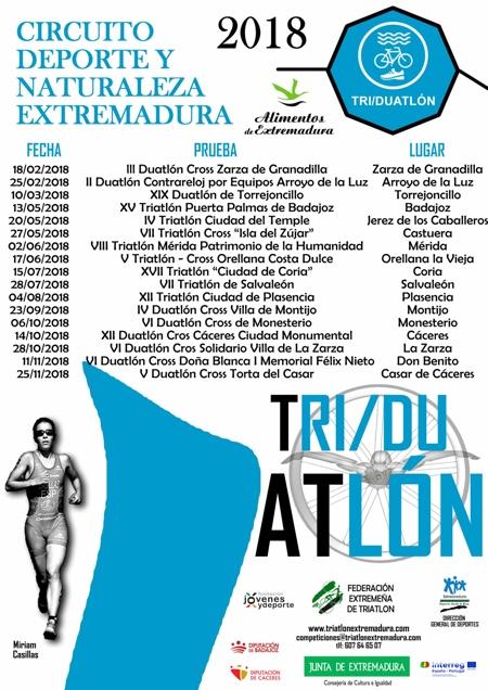 Circuito Deporte y Naturaleza Extremadura 2018
