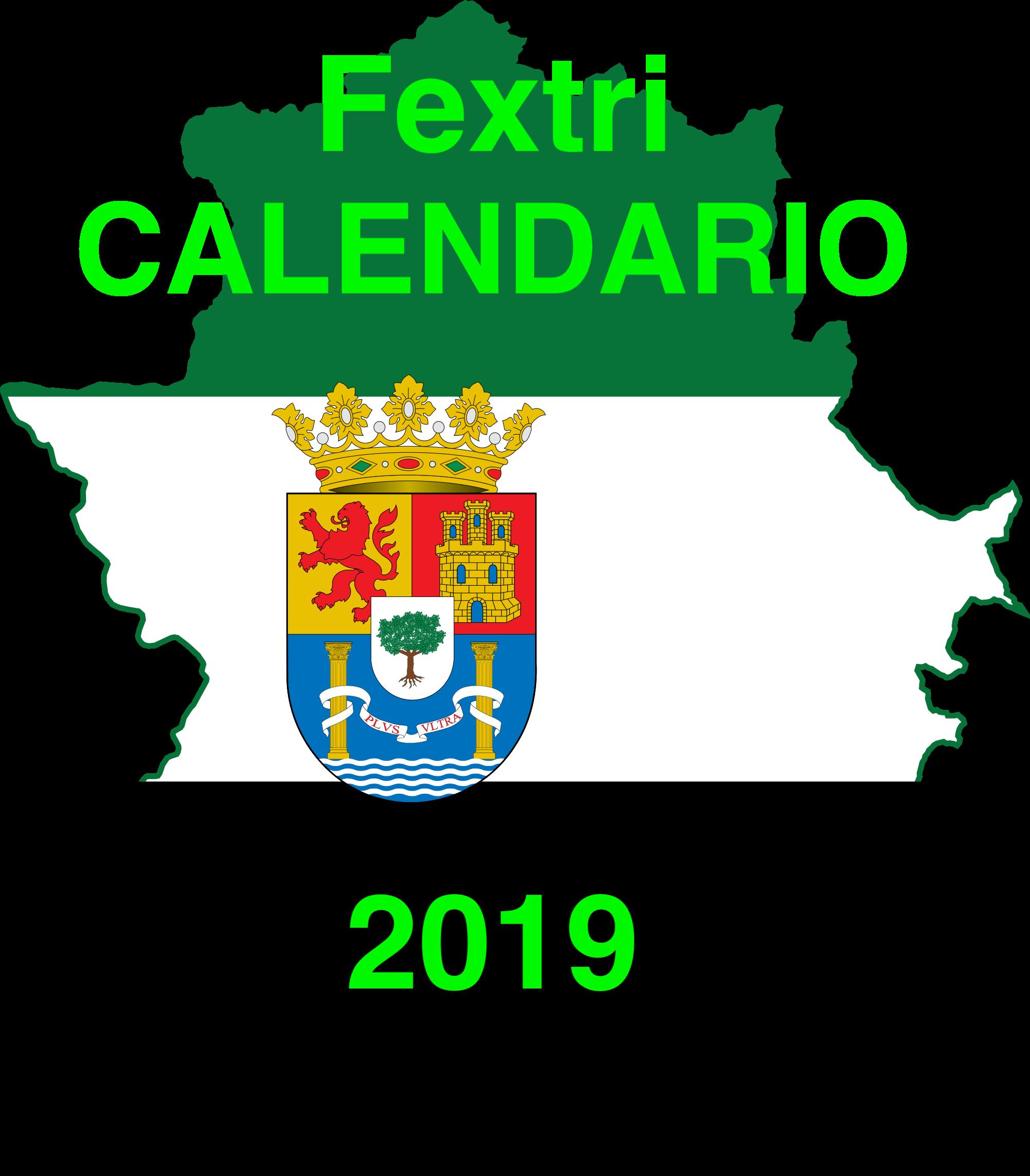 Calendario Fextri 2019