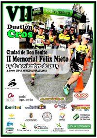 VII Duatlón Cros Doña Blanca II Memorial Felix Nieto