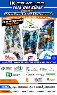 Campeonato de Extremadura de Triatlón Cros 2020