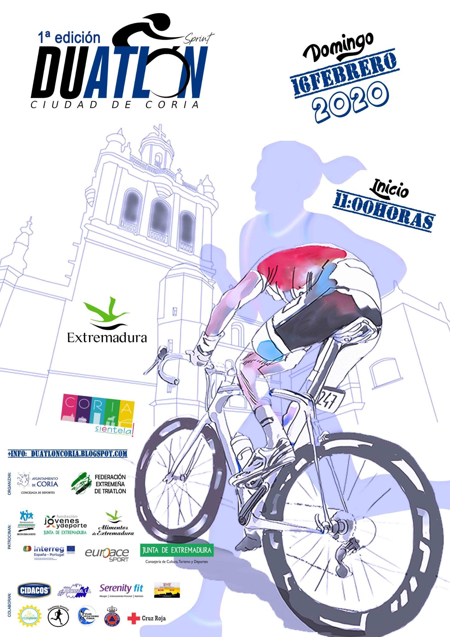 I Duatlon Sprint «Ciudad de Coria»