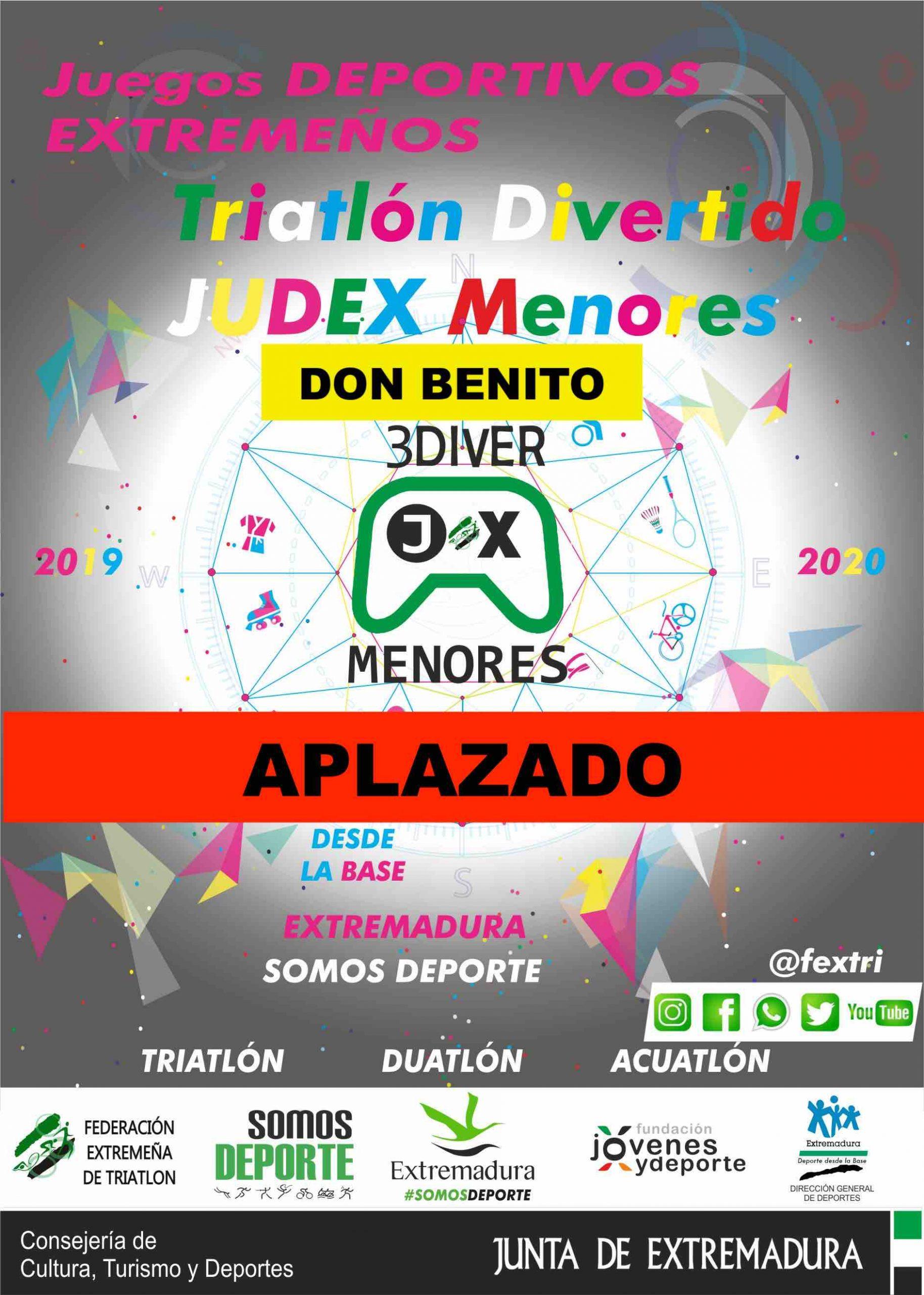 4ª Jornada Triatlón Divertido Judex Menores 2019/2020