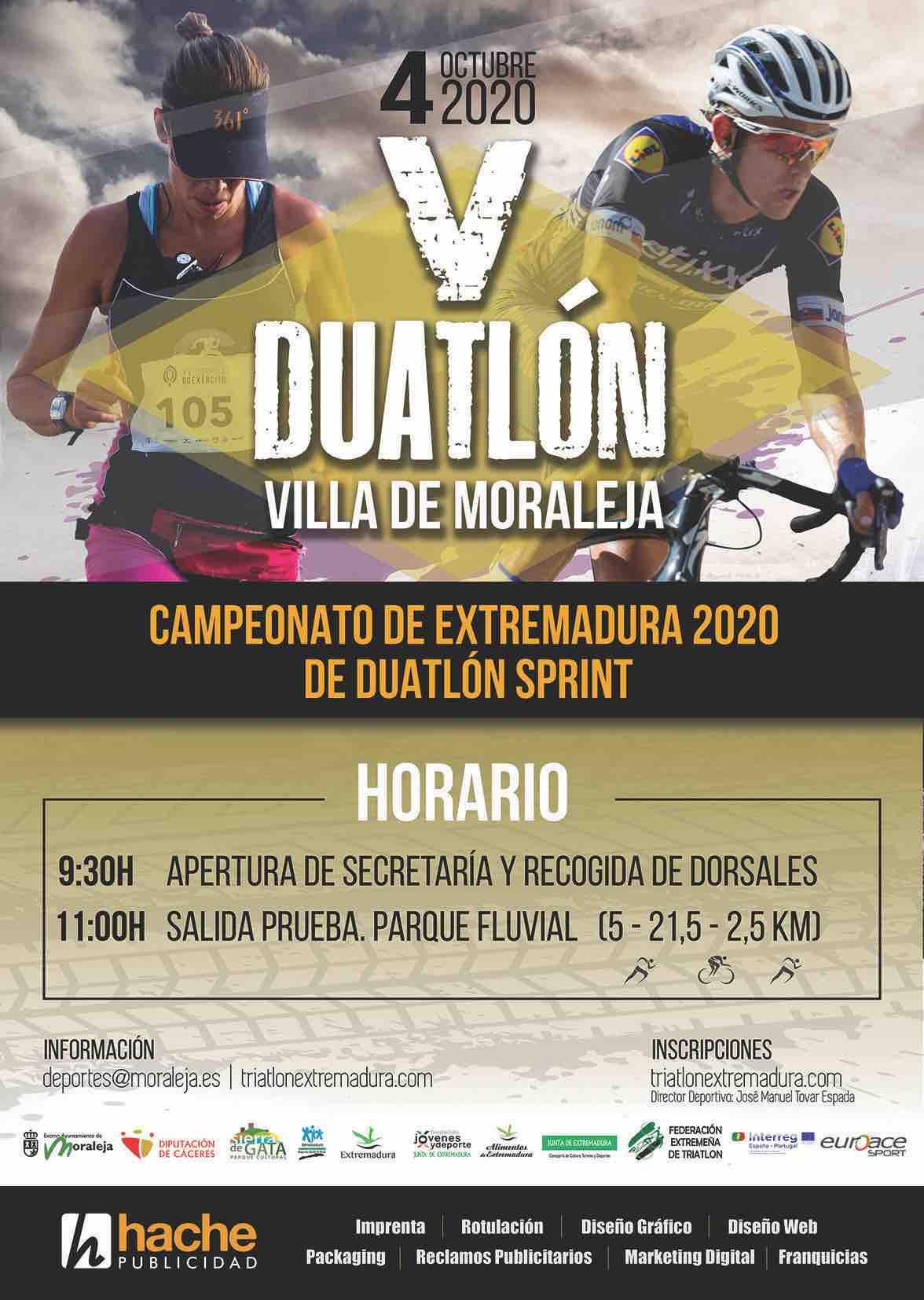 Campeonato de Extremadura de Duatlón Sprint 2020