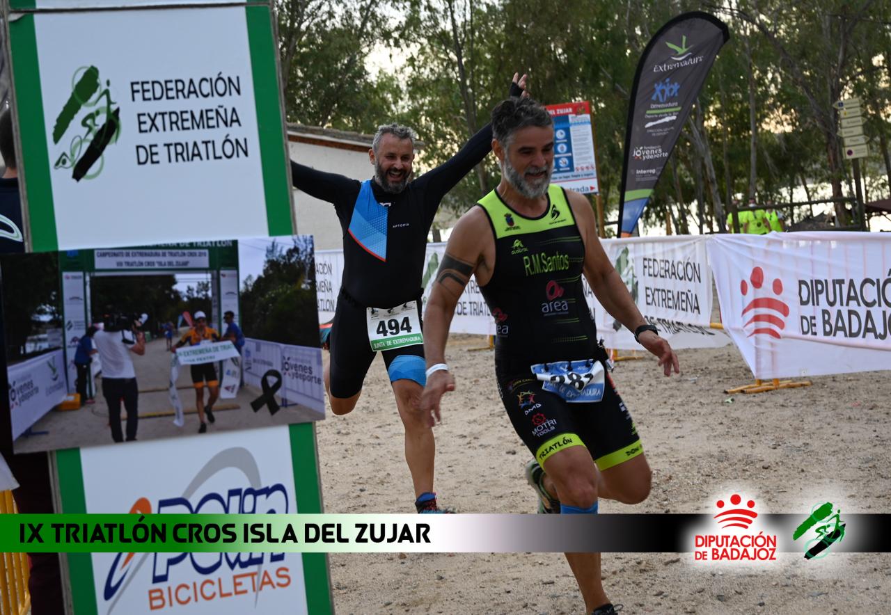 Foto resúmenes IX Triatlón Isla del Zujar