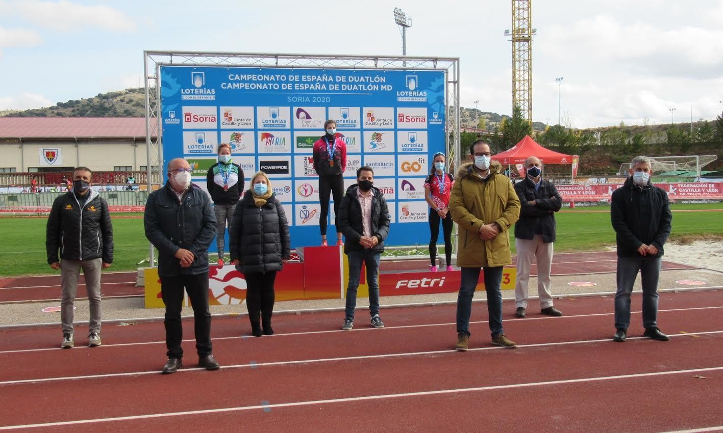 Sonia Bejarano campeona de España de Duatlón