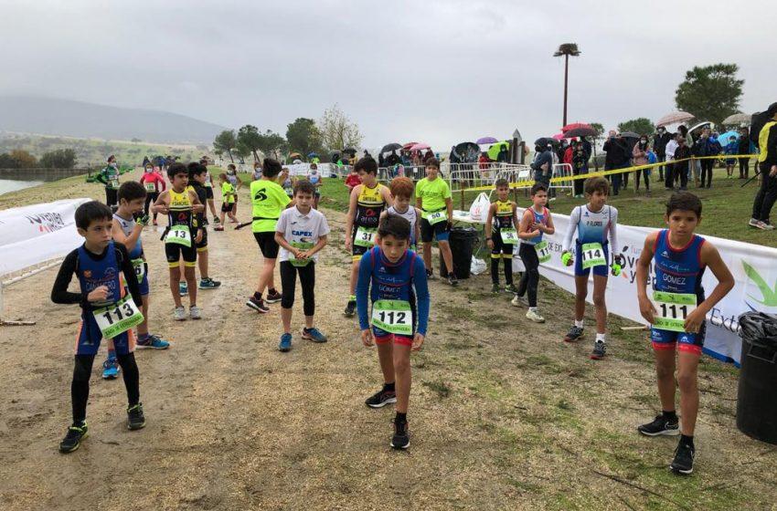 Duatlón Cros Menores Doña Blanca Triatlón Divertido Judex Federación Extremeña de Triatlón