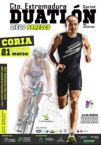 Cartel II Duatlón Sprint «Diego Paredes»