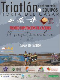 Triatlón CRE Torta del Casar – Cto de Extremadura CRE 2021