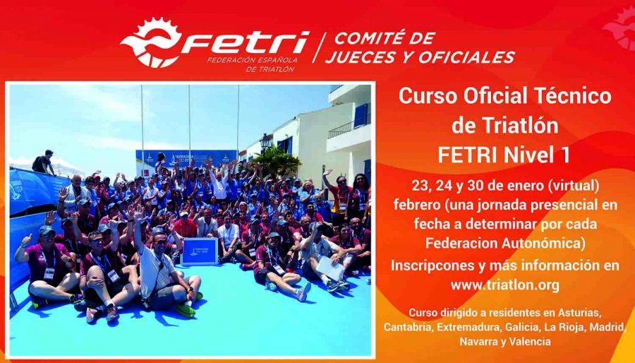 Curso de Jueces-Oficiales Técnicos de Triatlón FETRI Nivel 1