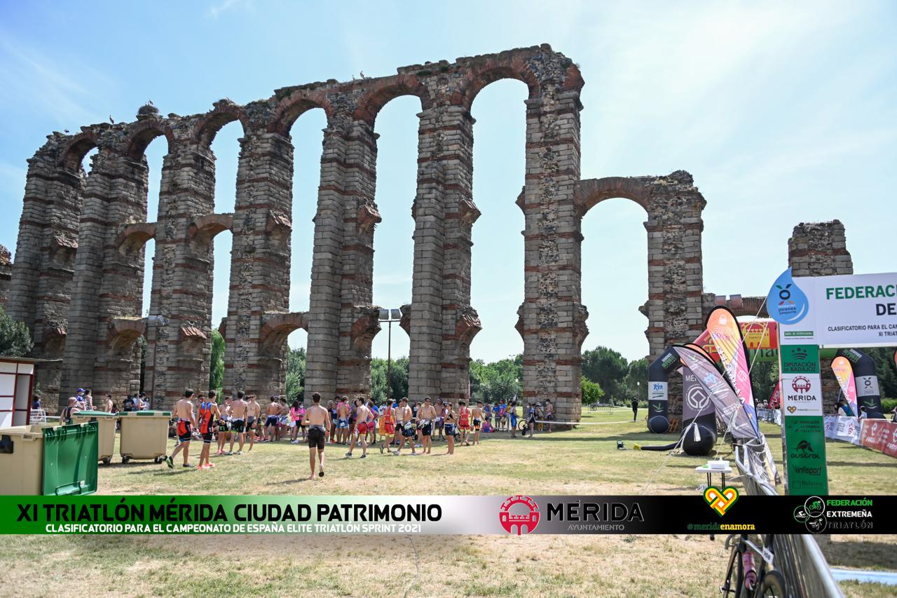 FOTOS XI Triatlón Mérida Ciudad Patrimonio