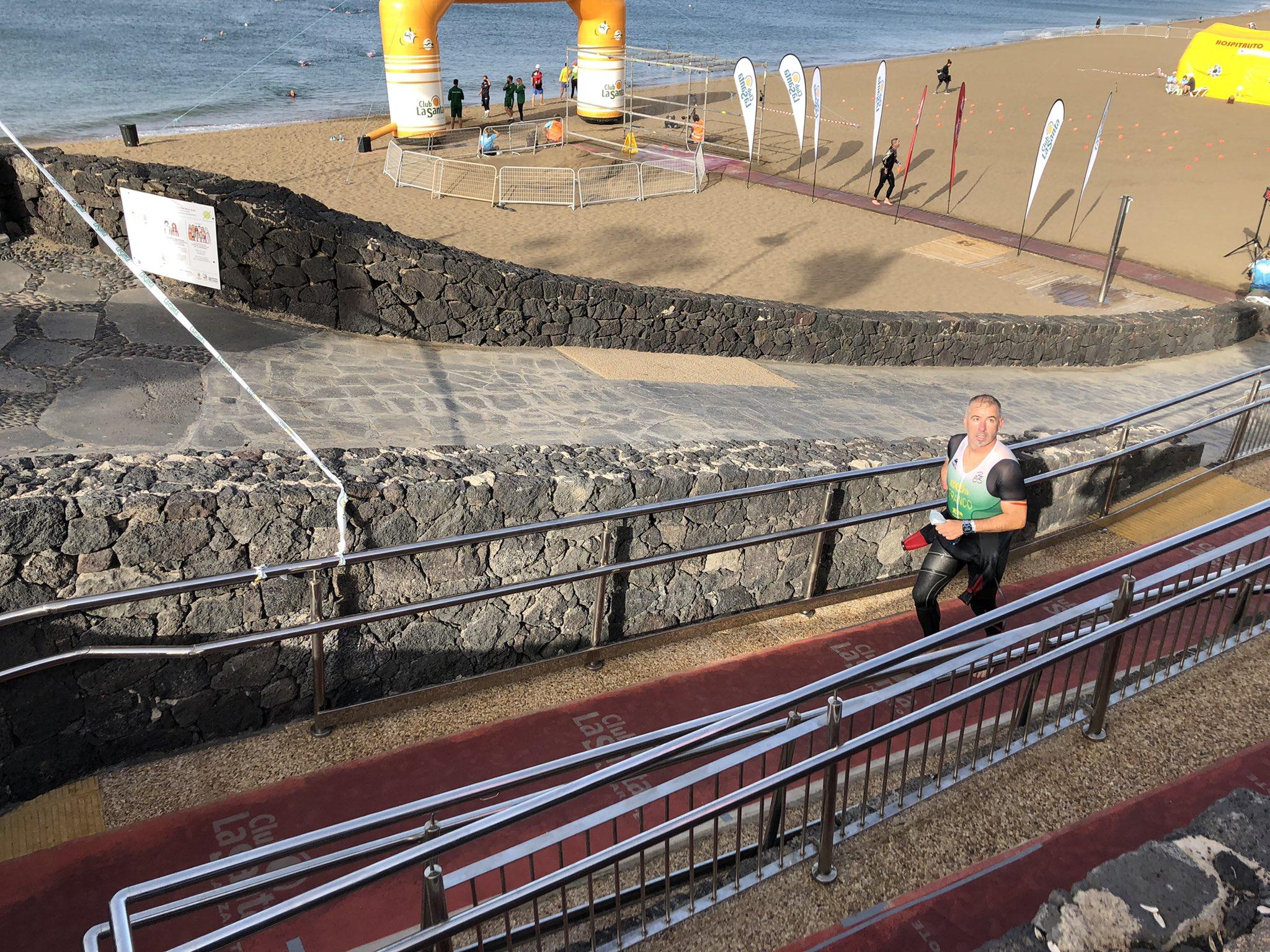 Toni Franco Salas Ironman de Lanzarote